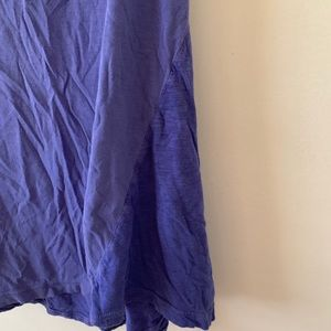 Splendid Tops - Splendid women blue asymmetric tank top sz medium